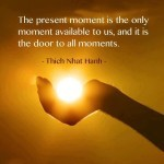 The Present Moment quote