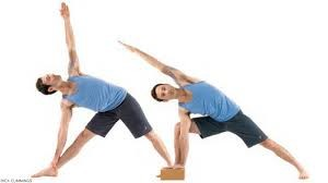 trikonasana pose - happy pose