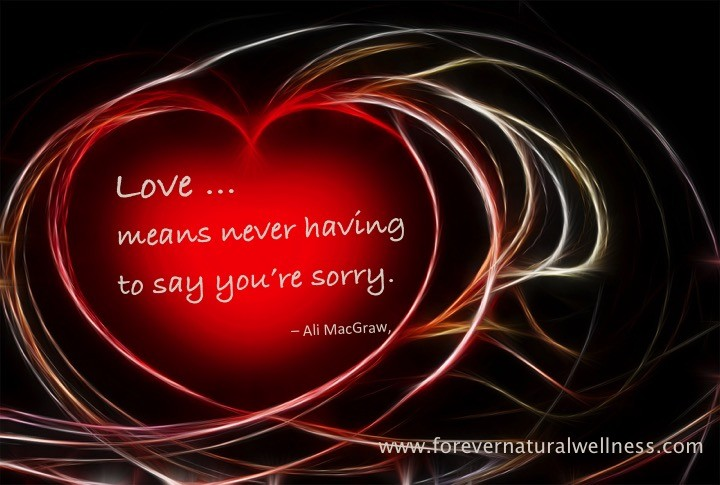 Love means ...
