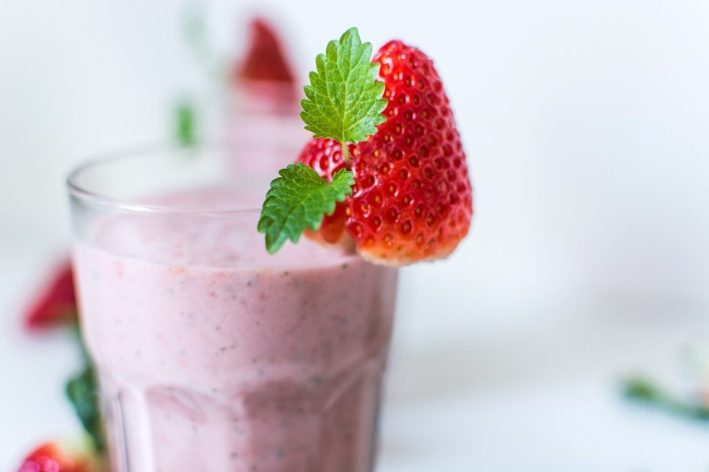 Frozen Strawberry Fat-Burning Smoothie