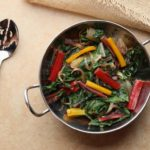 Sautéed Swiss Chard with Onions