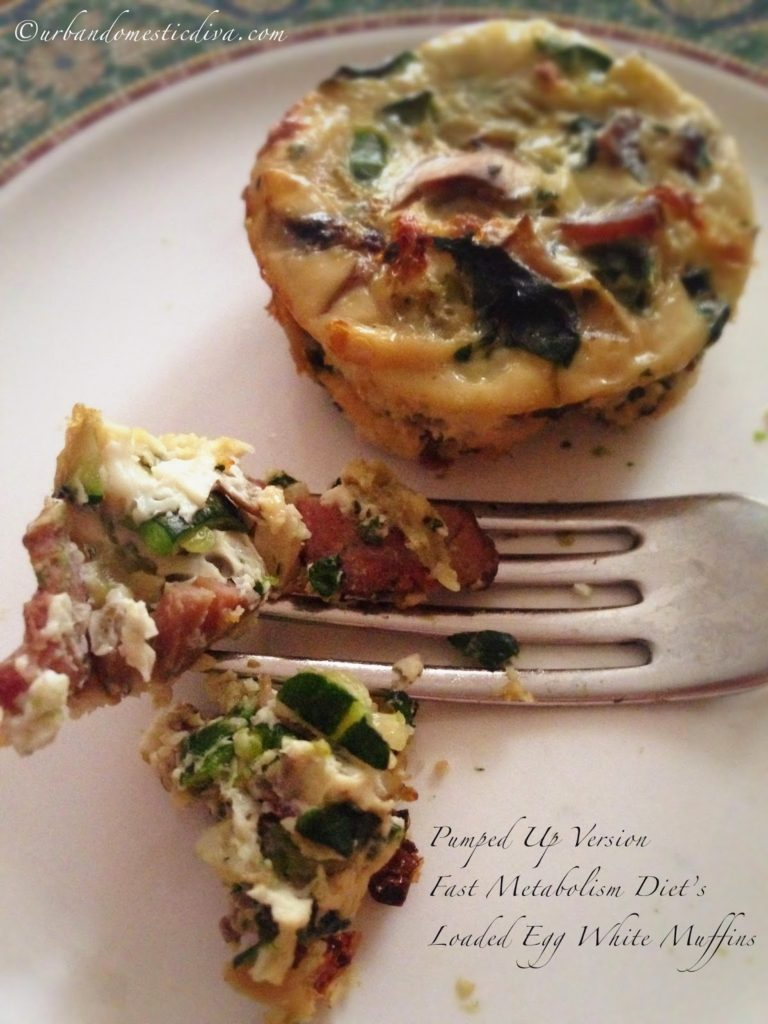 "Loaded ""Egg White Muffins"""